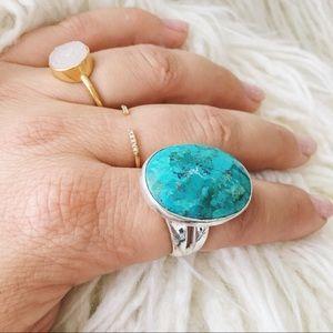 Stella & Dot || Turquoise Odyssey Ring